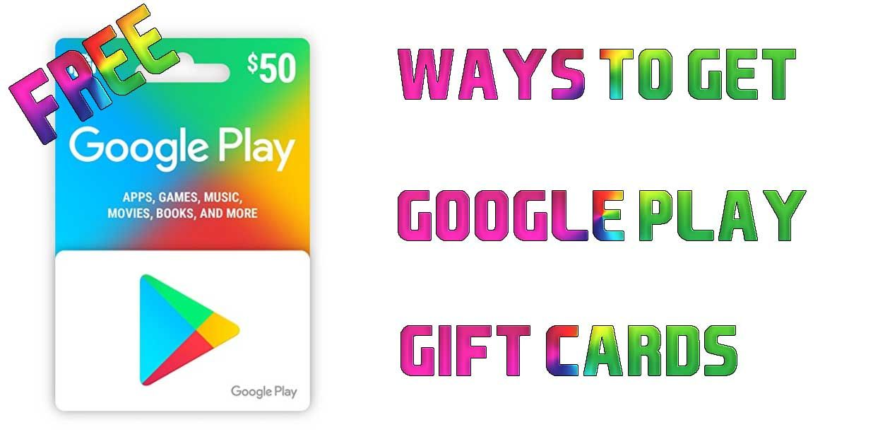 Giveaway Google Play Gift Card Amazon Gift Card Free Get Gift Cards