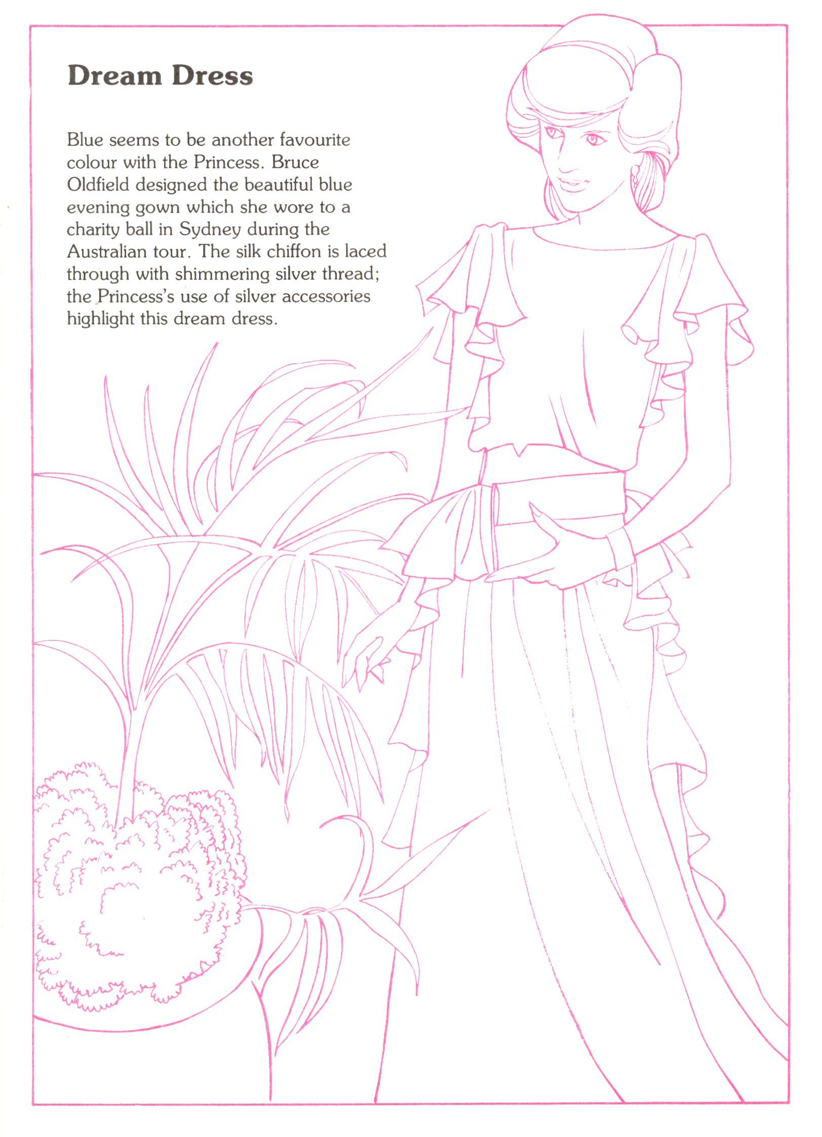 Princess Diana Fashion Collection Book 4 Social Studies Culture
