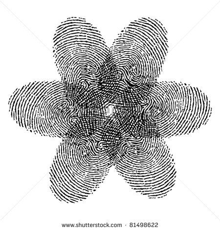fingerprint #flower #tattoo Great Idea! Adding this to my