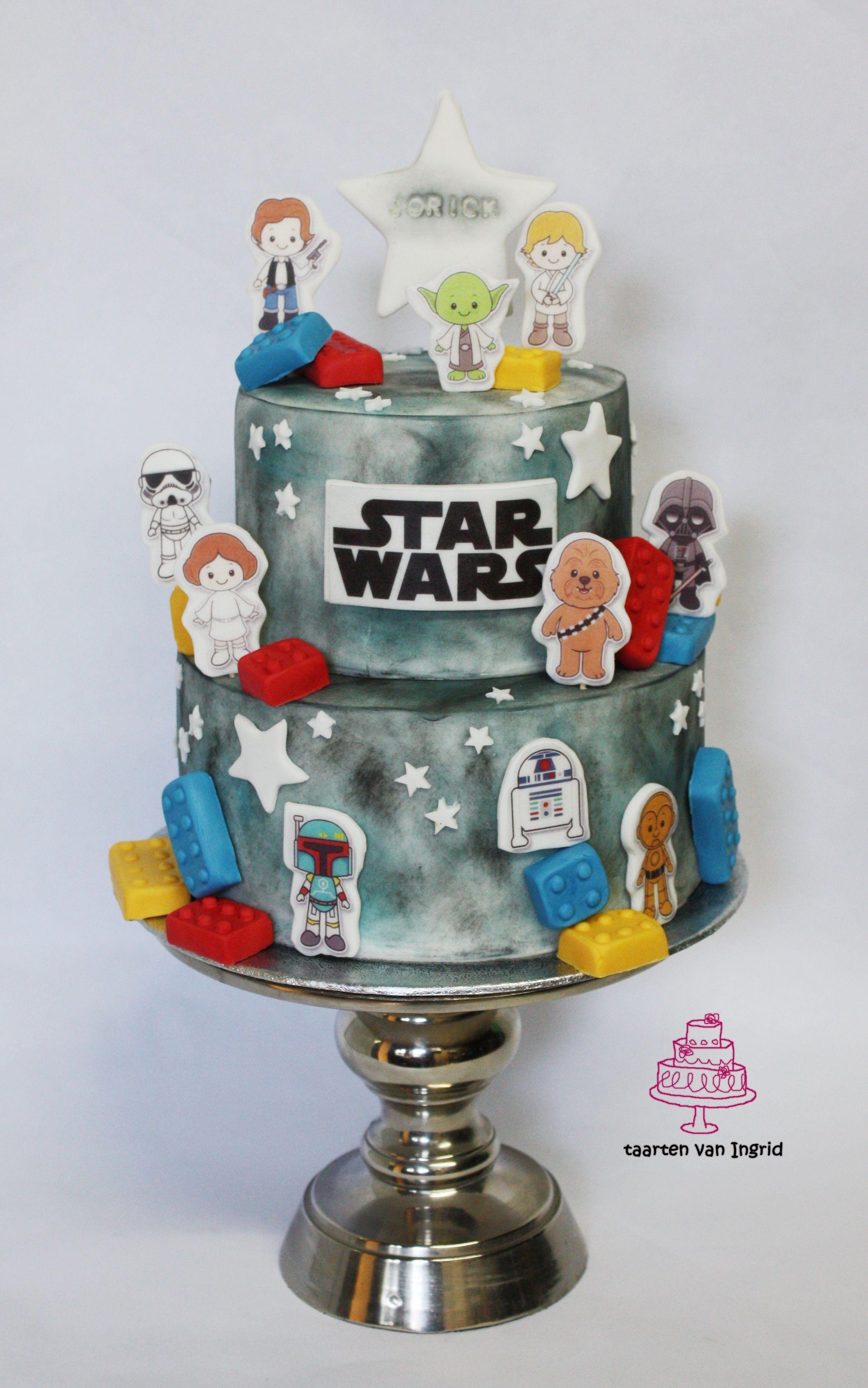 Starwars Taart Cake Taart Taart Cake