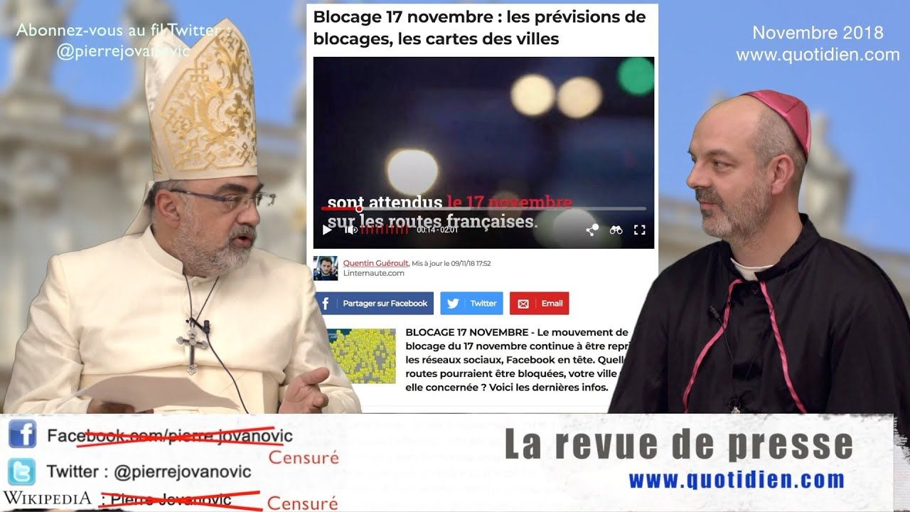 P Jovanovic L Fendt La Revue De Presse Novembre 2018