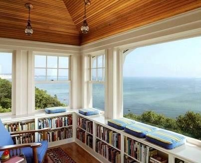 #PrimroseReadingCorner   My dream reading room.