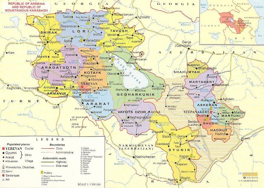 Armenia mountainous country in the South Caucasus region of Eurasia