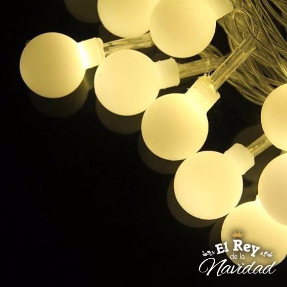 Guirnalda Luz Led Calida Pilas Tipo Kermesse Pelotitas Mini Luces Led Tiras Luces A Pilas Guirnalda De Luces