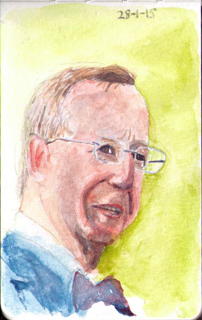 See the original photo here This is the president of Estonia, Toomas Hendrik Ilves See more rulers of the world here