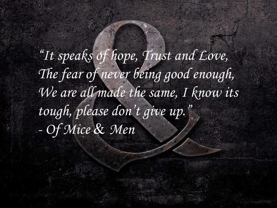 Of Mice And Men Cover Photos Quotes. QuotesGram