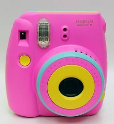 FUJIFILM Colorful Instax Mini8LOVE This Cute One Polaroid Camera ColorsPic