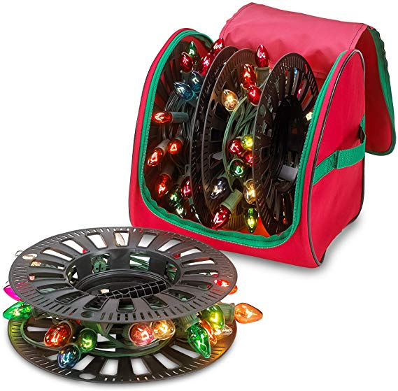 Amazon Com Christmas Light Storage Reels Set Of 3 Reels Store Up To 375 Ft Of Mini Holid In 2020 Christmas Light Storage Christmas Tree Light Bulbs Christmas Storage