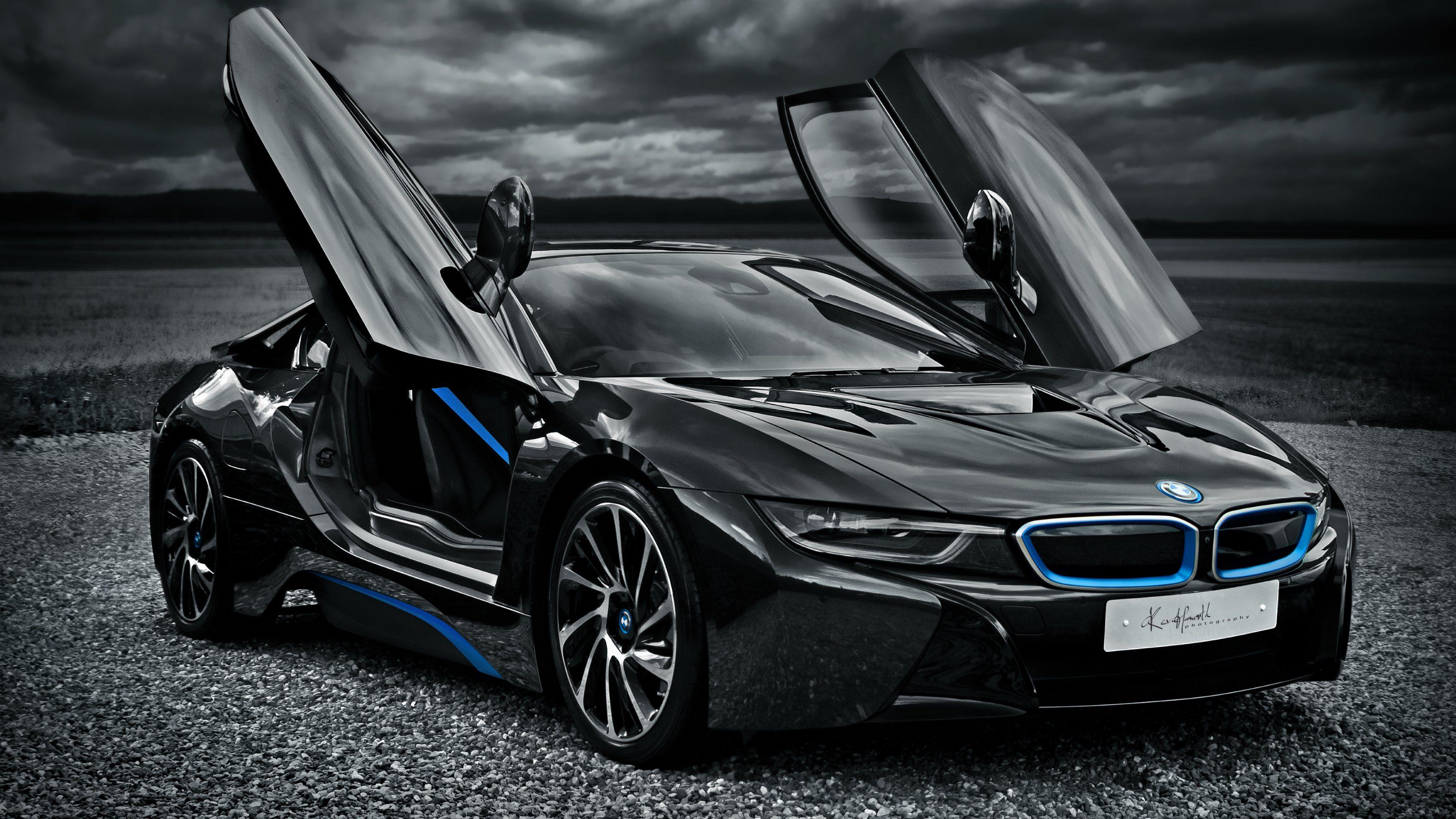 BMW i8 Ultra HD 4K Wallpapers Cars Pinterest Cars