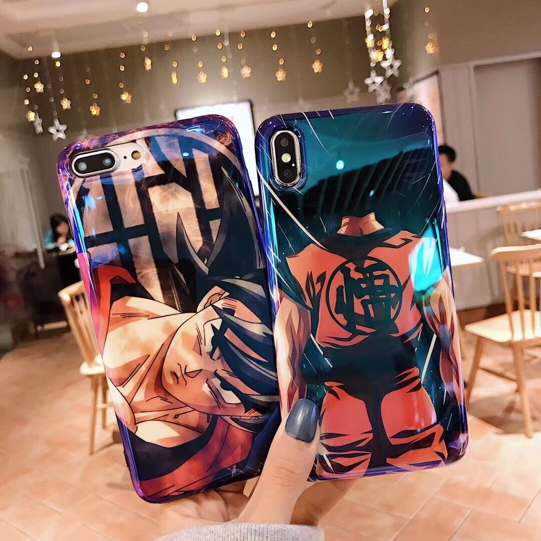 Dragon ball super phone case for iphone 11 pro x xs max xr