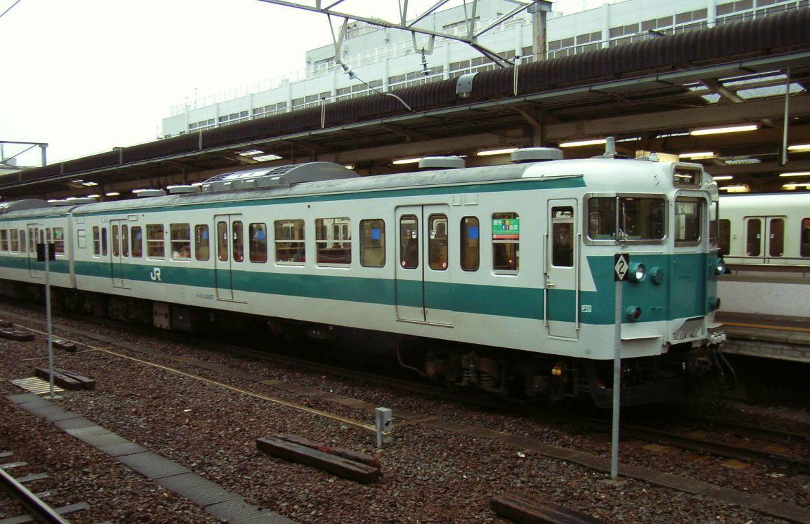 113系5000番台和歌山駅
