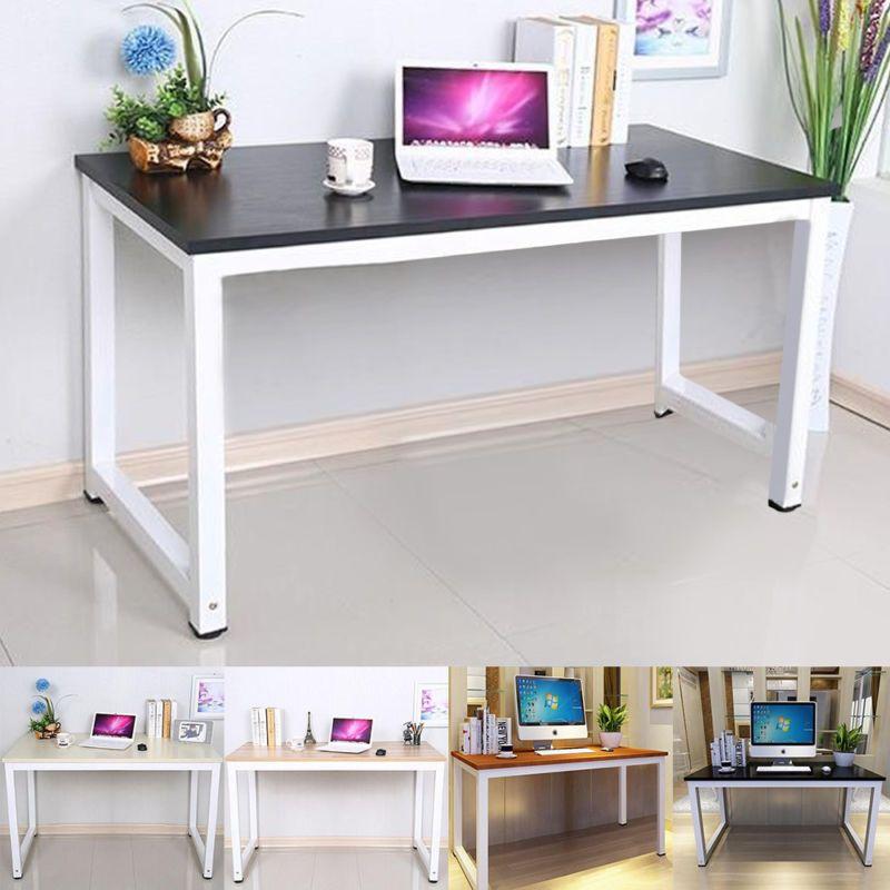 Computertisch PC-Tisch Holz Arbeitstisch Eckschreibtisch Büromöbel ...