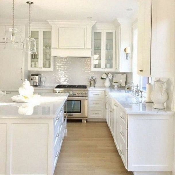 34 the benefits of modern white kitchen cabinets on stylish and elegant modern glass wall interior design ideas get the financial benefits id=23715