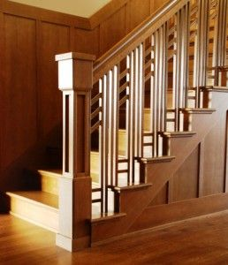 Beautiful Love This Arts And Crafts Style Staircase.