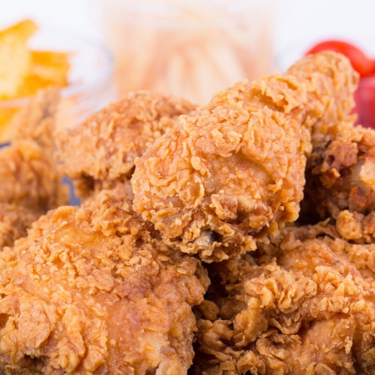 Oven-Fried Chicken With A Corn Flake Crust
