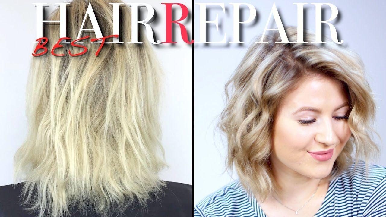 HOW TO REPAIR DRY DAMAGED HAIR Milabu YouTube Dry