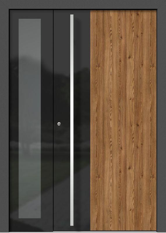 Photo of Inngangsdører av tre-aluminium VETRO