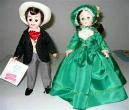 Scarlett and Rhett  Madame Alexander