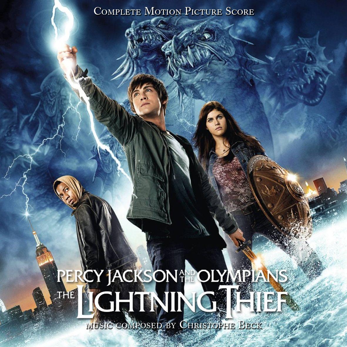 Percy jackson the olympians the lightning thief