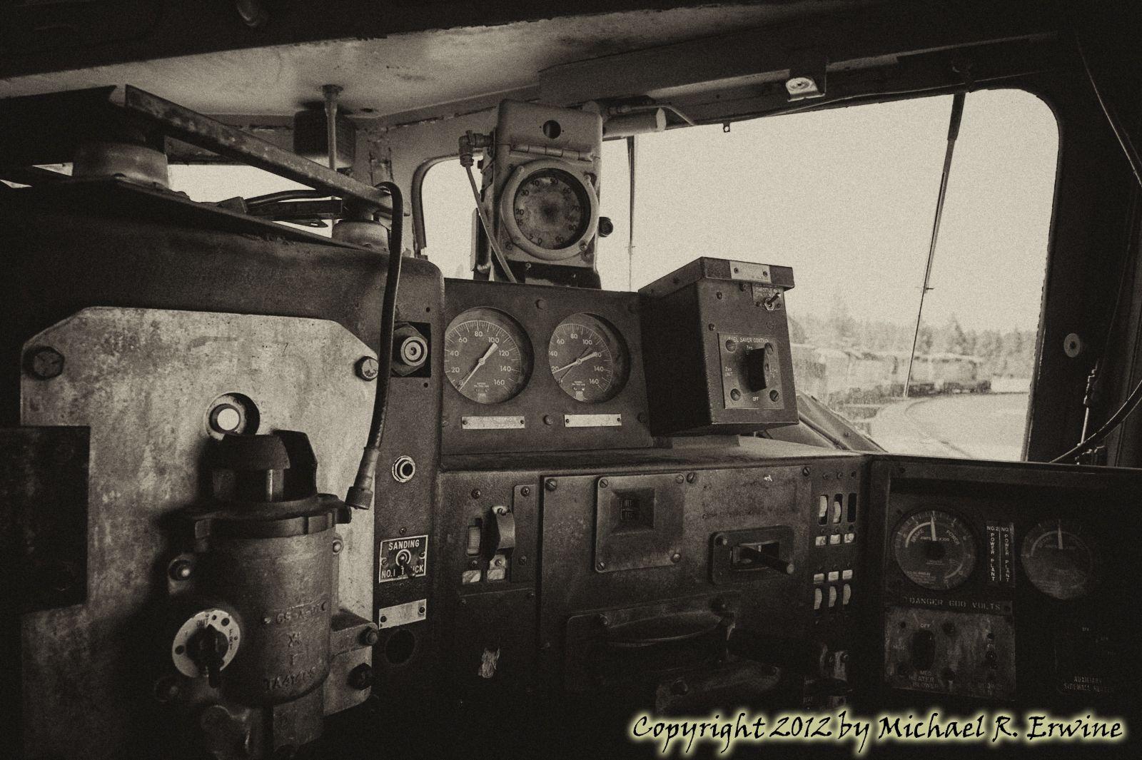 Western Pacific Railroad Yard, Portola, CA Air race