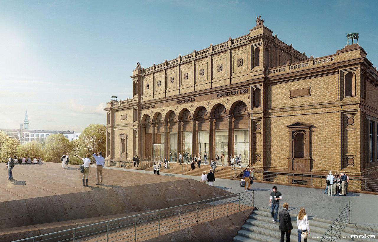 Die Hamburger Kunsthalle Eintritt Frei Im Mai Kunsthalle Hamburg Hamburg Stadt Hamburg