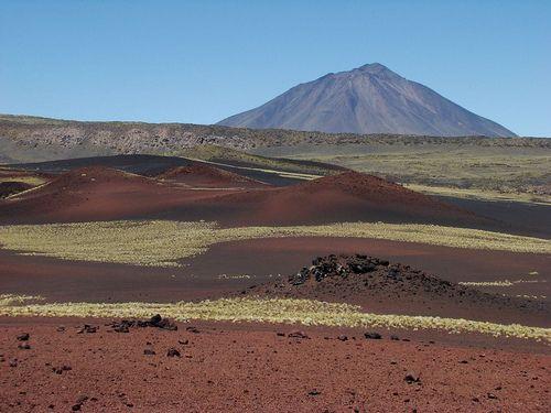 RESERVA NATURAL LA PAYUNIA Sus campos llenos de lava, con 800 conos volcánicos ocupan una superficie de 450 mil hectáreas. En ella vemos la gran actividad que se realizó aquí