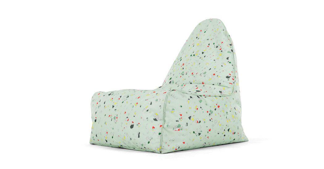 Ayra lounge bean bag chair iggy print bean bag