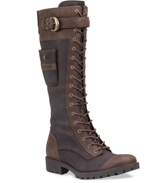 Image detail for -Timberland Boots Womens Atrus Snap Tall Brow I have these  boots they