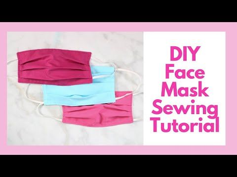 How To Sew A Surgical Face Mask For Hospitals Sweet Red Poppy Youtube In 2020 Sewing Sewing Blogs Easy Sewing