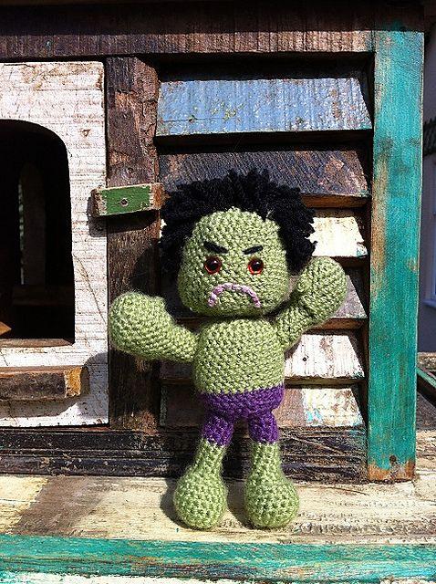 Hook Monster: The Hulk!! | Häkeln | Pinterest | Amigurumi ...