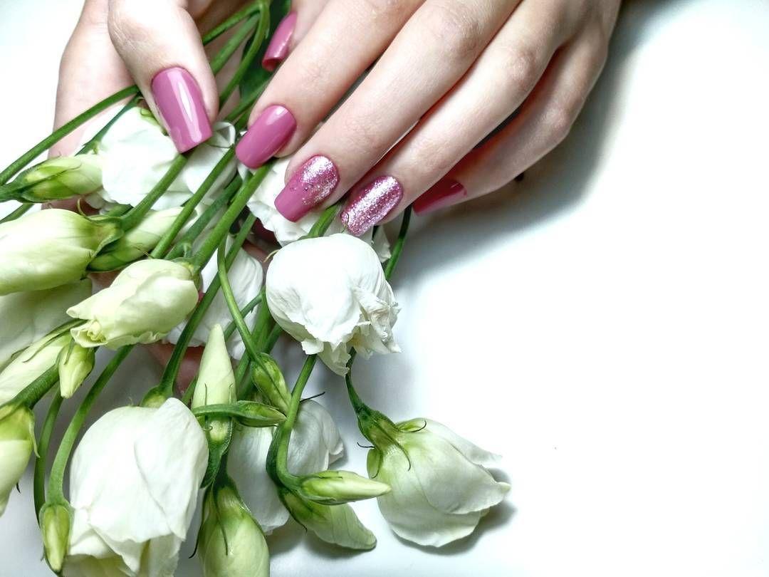 Asombroso Uñas De Color Rosa Y Morado Pinterest Adorno - Ideas Para ...