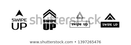Swipe Up Vector Icons For Scrolling Button Social Media Application Element Vector Icons Vector Icon