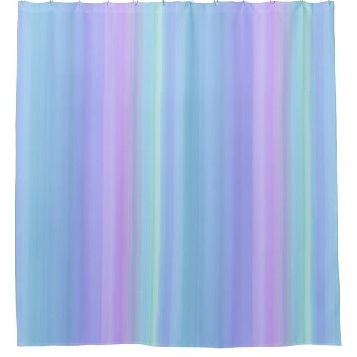purple and green shower curtains. Blue Purple Green Pastel Stripes Shower Curtain And Curtains