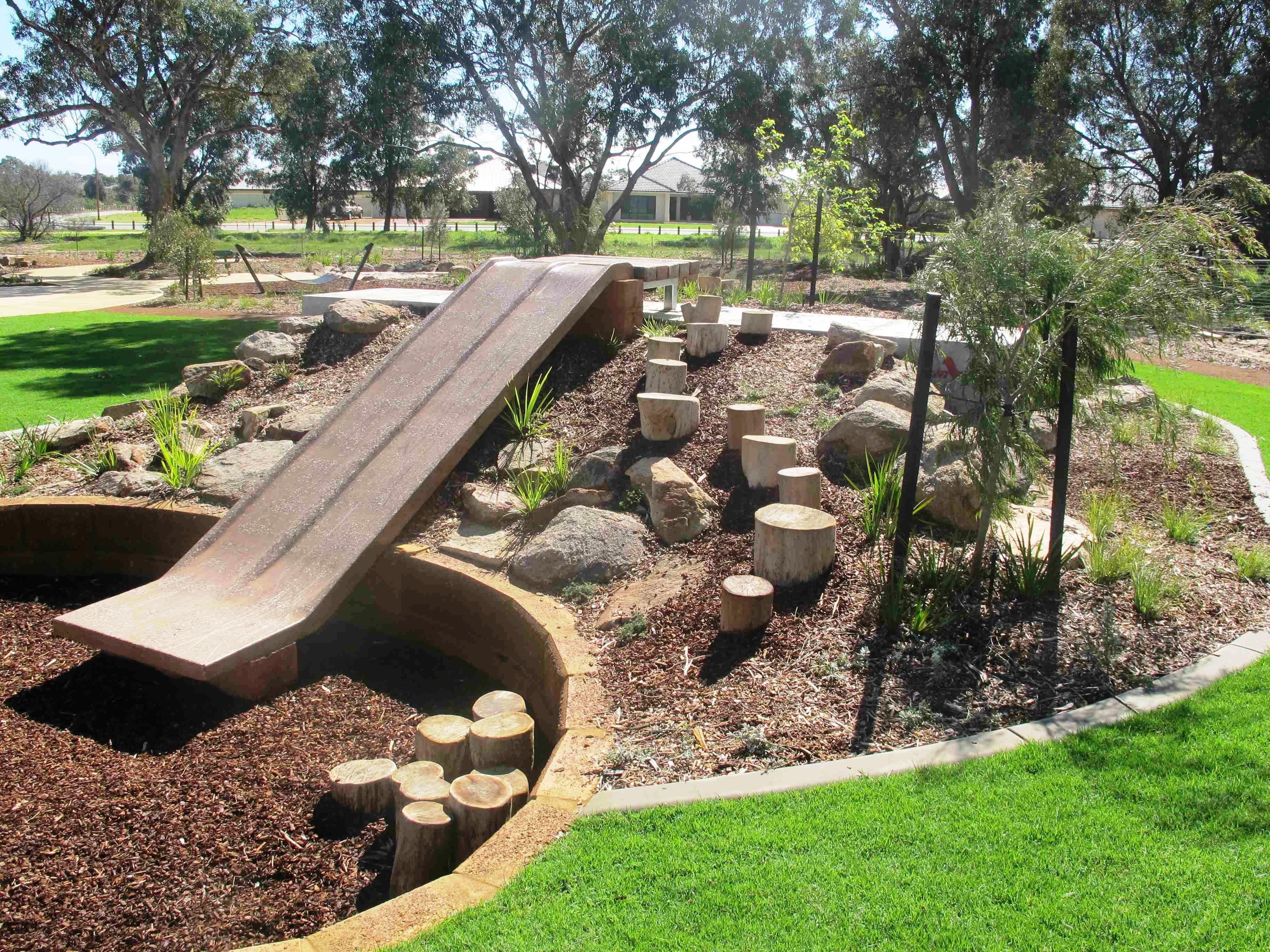Building Outdoor Playscapes | Natural playground, Backyard ...