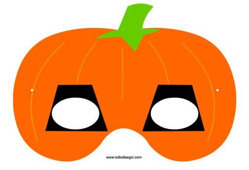 per Bambini Bledyi mascherine per Occhi a Forma di Zucca di Halloween