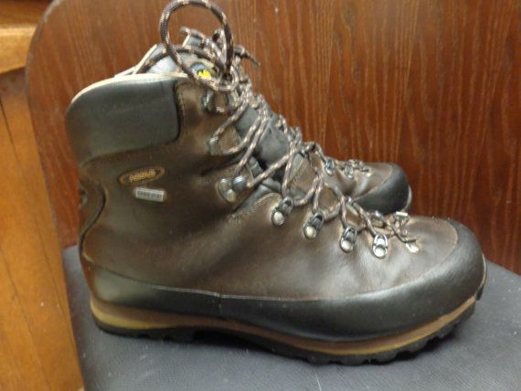 b52298594af on sale Vintage Asolo sasslong Goretex brown hiking by Simplemiles ...