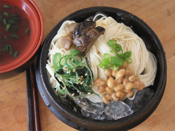 Cold Somen Noodles with Dipping Sauce | Receta | Tasty Ideas for the ...