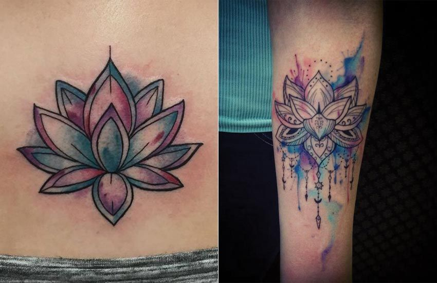 Lotus Tattoo Ideas Lotus Flower Tattoo Meaning Where To Get