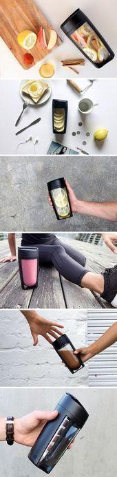 Die Jungs von MOUS Fitness behaupten, die perfekte Flasche entworfen zu haben. Es verwendet eine ......