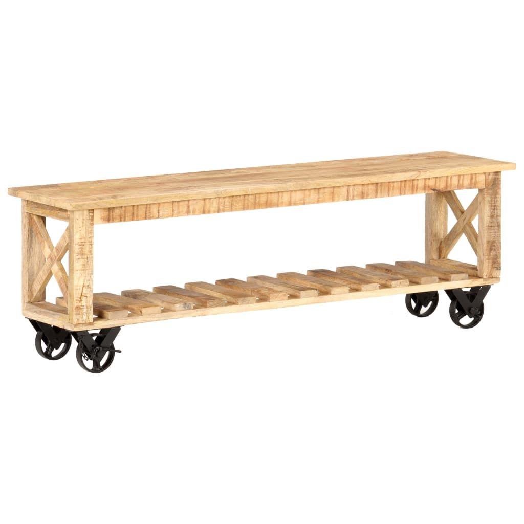 meuble tv en bois de manguier brut h42