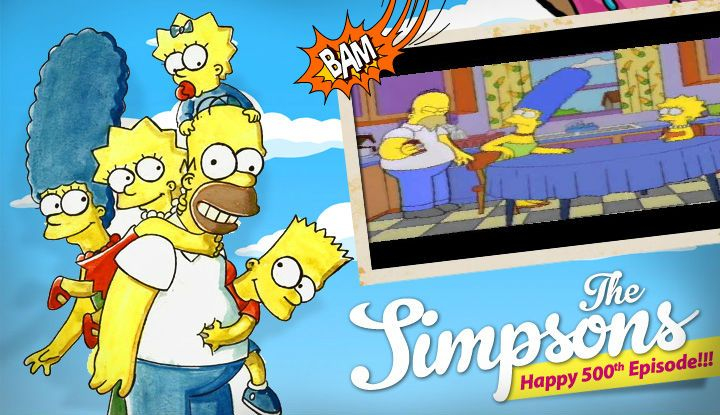 Congratulations To The Simpsons And Matt Groening On Airing Their 500th Episode What S Your Favorite Episode Or Scene With Images The Simpsons Movie The Simpsons Simpson