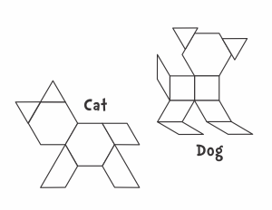 picture regarding Printable Pattern Block titled Pets - Jessicas Corner of Cyberspace geo styles