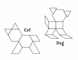 Animals Pattern Block Templates from Jessica's Corner of