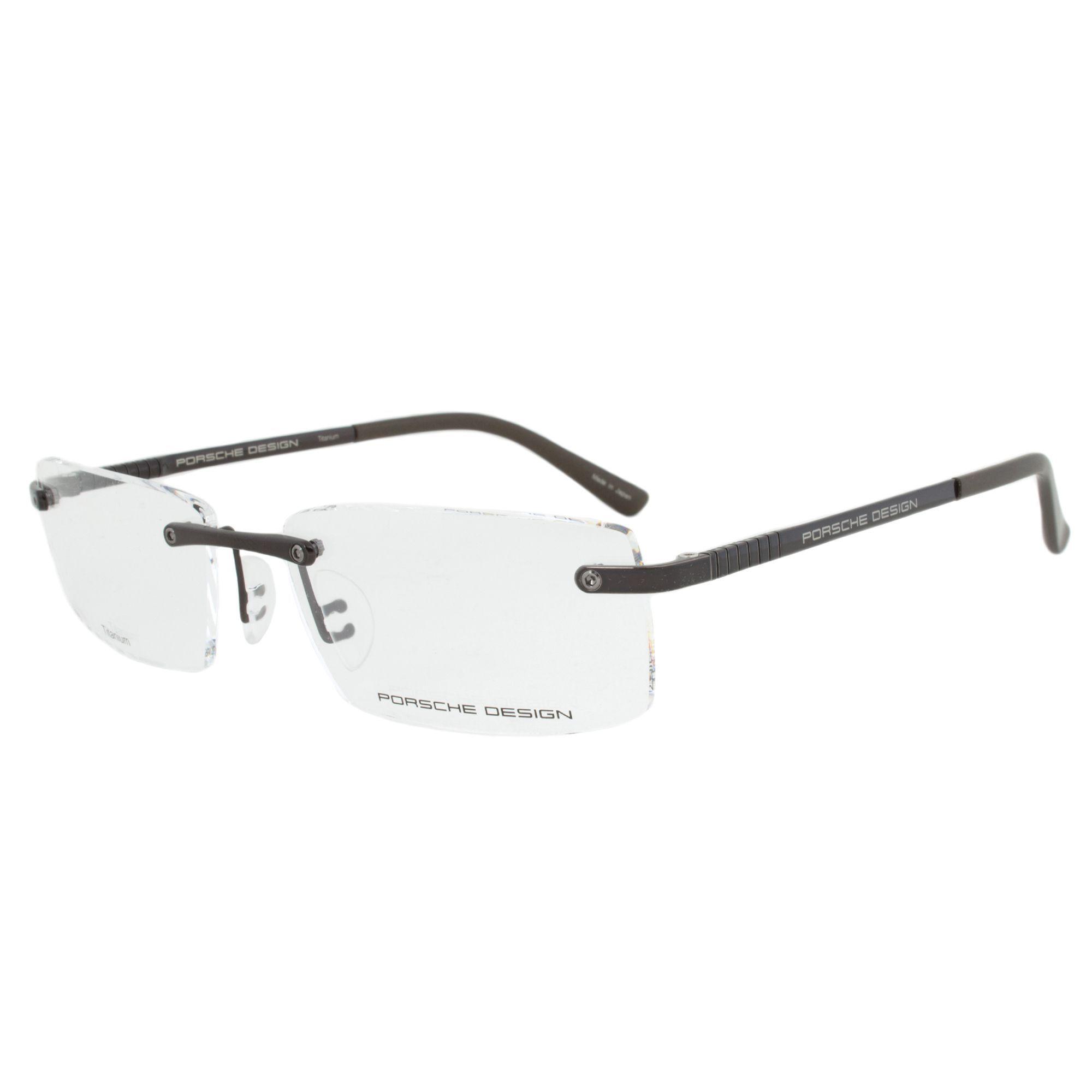 1ca78f30776 Porsche Design P8238 C Eyeglasses Frame in Dark Size 56