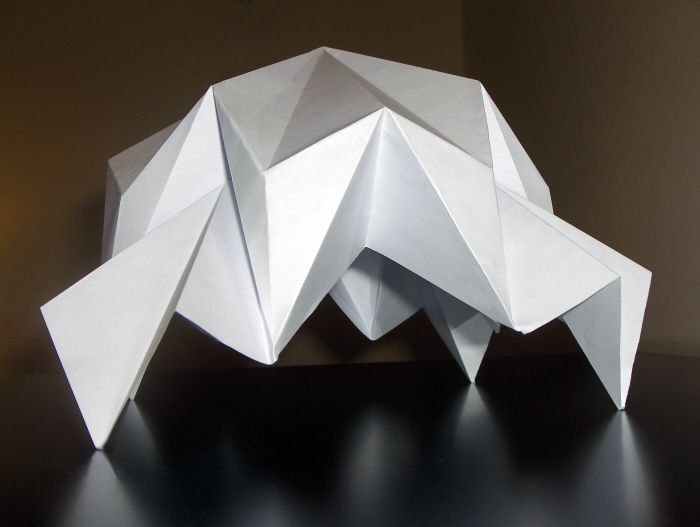 3 Dimensional Origami Folded Structures By Tewfik At Coroflot