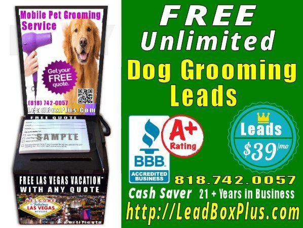 <b>Dog Grooming Lead Generation, http://LeadBoxPlus.com , info@leadBoxPlus.com  , (818) 742-0057
