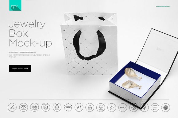 Download Jewelry Box Package Mock Up Creativework247 Packaging Mockup Box Packaging Jewelry Box