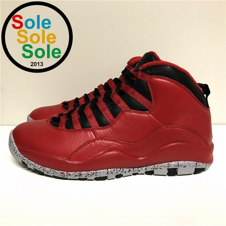 816ea7af40e9 Nike Air Jordan 10 Retro 30th Bulls Over Broadway 705178 601 Size 9.5   fashion  clothing  shoes  accessories  mensshoes  athleticshoes (ebay link)