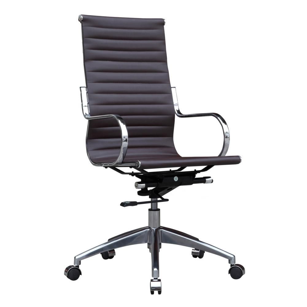eco office chair. Twist Office Chair High Back, Dark Brown Eco Leather E