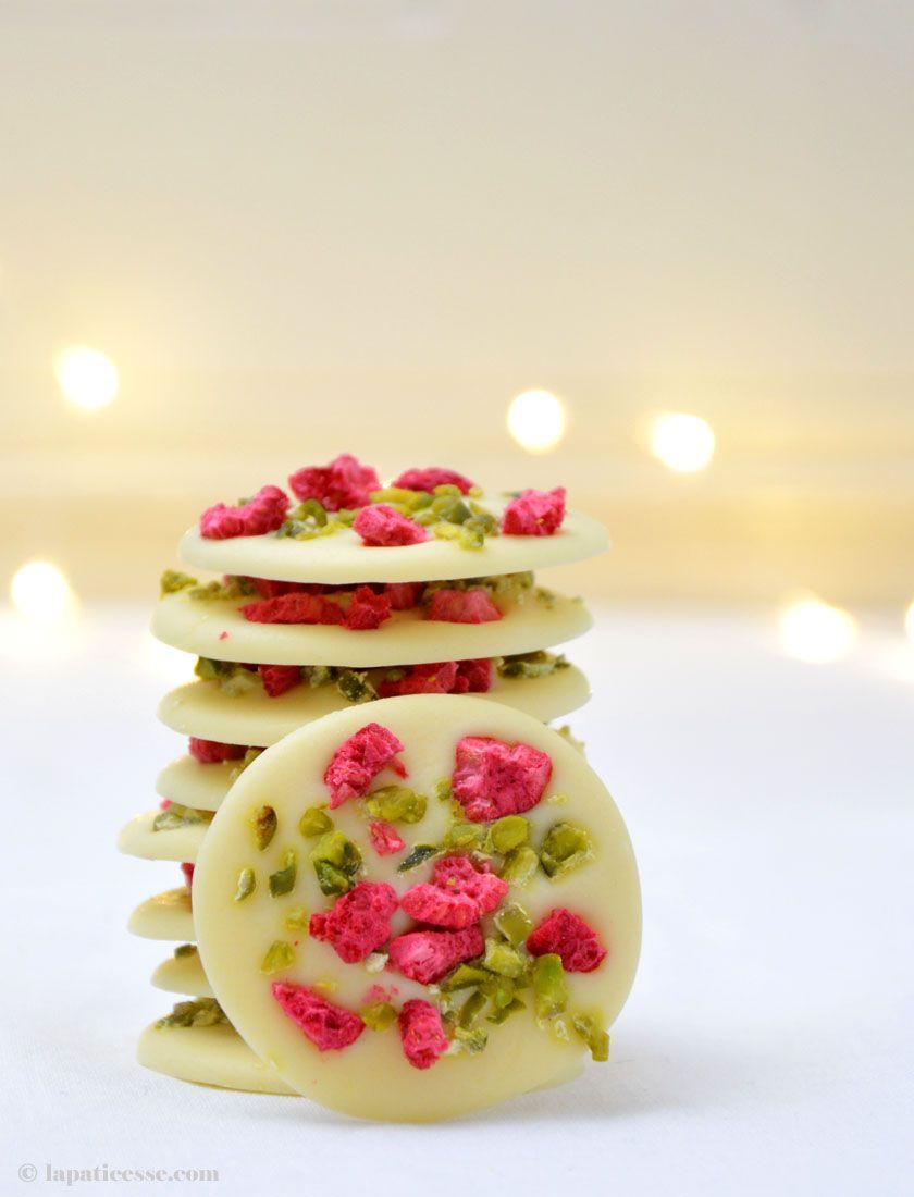 Mendiants au chocolat Schokoladentaler aus der Provence - La Pâticesse - Der Patisserie Blog